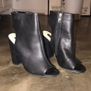 FOREVER 21 • Cut Out Booties